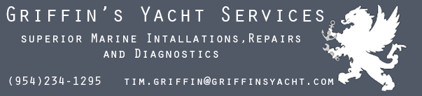 Griffin's Yacht Services Advertisement